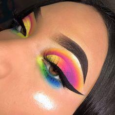 Go to the webpage to see more about makeup, hair and nails Crazy Eye Makeup, Dope Makeup, Cool Makeup Looks, Beautiful Eye Makeup, Creative Makeup Looks, Glam Makeup, Eyeshadow Makeup, Makeup Inspo, Makeup Inspiration