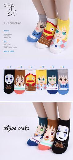 52ba8ce405  14.90  amp  FREE Shipping No face japanese animation socks 1set amazon.com Girls  Socks