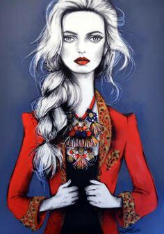 #Fashionillustration #FashionIsArt Pippa McManus