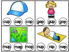 http://www.teacherspayteachers.com/Product/ap-Word-Family-Phonics-Pack-1236308 This pack has a variety of _ap word family (CVC) activities which are great, fun and interactive way to help students build, read and write, and practice these word family words!