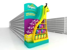 Pampers by Martin Migliaro, via Behance