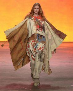 Diseño y moda, estilo y look libre. The People of The Labyrinths @ Amsterdam Fashion.