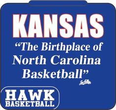 KANSAS - the birthplace of North Carolina Basketball!