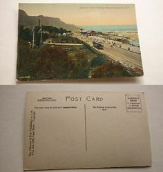 OLD POSTCARD OF SOUTH AFRICA c1900, VIEW OF CAPE TOWN, CAMPS BAY RAILWAY   eBay Old Postcards, Camps, Cape Town, South Africa, Ebay