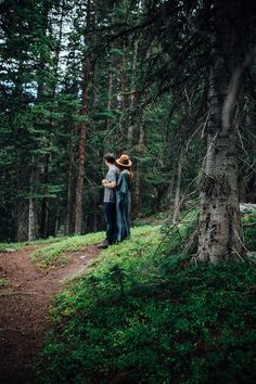 Dream Lake Engagement Shoot with Holly & Dylan | Tayler Carlisle Photography | Rocky Mountain National Park | Estes Park, Colorado | Boho style | Free People Dress | www.taylercarlisle.com/blog | tayler.carlisle@gmail.com | Engagement Photos | Engaged | In the woods |