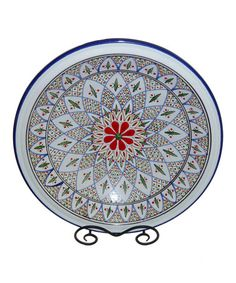 This Tabarka Large Serving Bowl by Le Souk Ceramique is perfect! #zulilyfinds