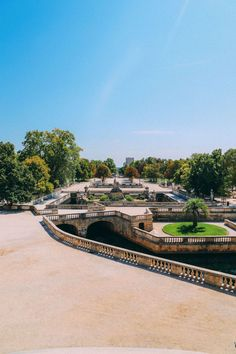The Beautiful Roman City Of Nimes... In France (62)
