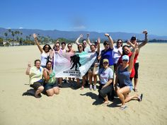 Wounded Warrior Team Building program in Santa Barbara, California. What a great group of amazing people.