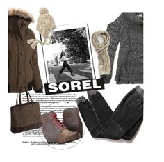 """""""Tame Winter with SOREL: Contest Entry"""" by clotheshawg ❤ liked on Polyvore featuring SOREL, Cotton Citizen, Hollister Co., Capelli New York, maurices and sorelstyle"""