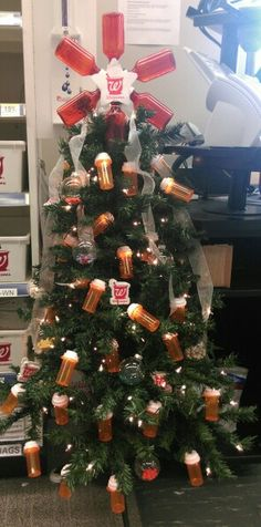 Pharmacy Christmas tree