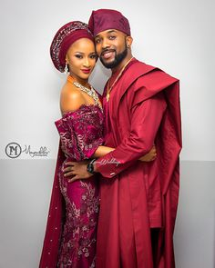 Nollywood actress Adesua Etomi and singer Banky Ws had their introduction today (the of May See first photos from here. Nigerian Wedding Dresses Traditional, Traditional Wedding Attire, African Traditional Wedding, Latest African Fashion Dresses, African Print Fashion, African Wear, African Dress, Nigerian Weddings, African Weddings