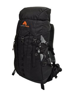 Guerrilla Packs Samurai Internal Frame Backpack, Black >>> Tried it! Love it! Click the image. : Hiking backpack