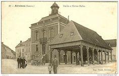airaines l'ancienne mairie et petite halle