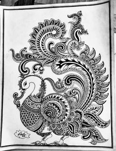 Free hand drawing Elementary Drawing, Free Hand Drawing, Peacock, How To Draw Hands, Drawings, Cards, Peacocks, Hand Reference, Sketches