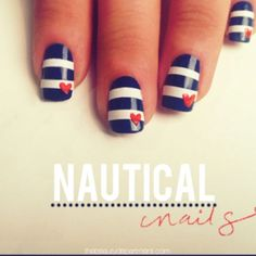 nautical nails <3