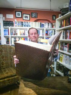 Brandon Mull signing Robin Glassey's Big Book - The Big Project — Robin Glassey
