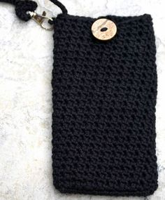Large Crochet Phone Case Made to Order Cell by deMarieandMarie