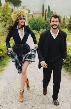 TOSCAN COUNTRY SIDE, What to Wear for the Next Six Months (Glamour Magazine)