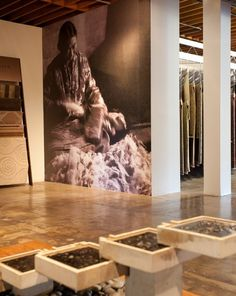 Clodagh has collaborated with Tufenkian on a variety of projects including the design of their carpet showrooms in New York and Los Angeles. Using beautifully