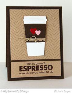 Perk Up, Coffee Cup Die-namics, Tag Builder Blueprints 2 Die-namics - Michele Boyer #mftstamps