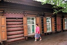 russian log homes | Siberian Houses