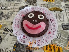 Tarta mono de chocolate