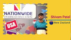 Congratulation Shivam Patel for your visa grant to study in New Zealand. All the best and happy stay in New Zealand.  #StudyInNewZealand #VisaConsultant #Feedback #NationwideOverseasEducation Study In New Zealand, Overseas Education, Congratulations, News, Happy, Ser Feliz, Being Happy