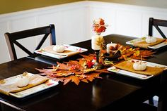 Blessed Beyond Measure: Fall tablescape for around 10 bucks