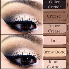 wedding make-up for bridesmaid's, maybe even me! Pictorial with the Naked Basics Palette by Urban Decay. Kiss Makeup, Love Makeup, Makeup Tips, Beauty Makeup, Hair Makeup, Makeup Ideas, Beauty Tips, Makeup Tutorials, Makeup Primer