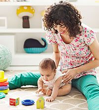 """""""The Best Ways to Play With Your Baby"""" -- activities to encourage motor development"""