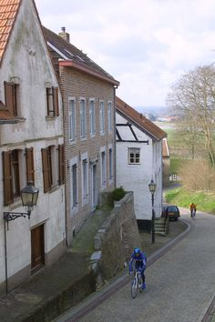 Het beschermd dorpsgezicht van Elsloo, Limburg.