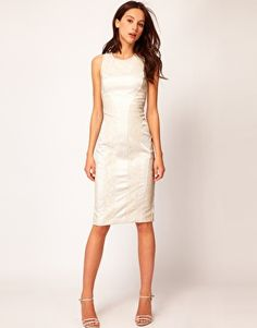 River Island Limited Edition Lace Panel Body-Conscious Dress