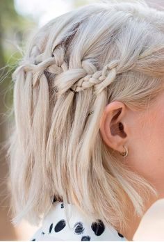 Hairstyles For Prom For Short Hair Gorgeous Braidedpromhairstyles  Prom Hairstyles  Pinterest  Prom