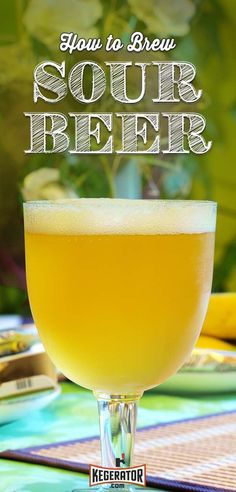How to Brew Sour Beer - Tips & Recipe #homebrewingrecipesbeer