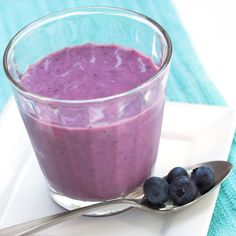 As the summer gets closer I had a request to make some low point fruit smoothies. This will be smoothie week!! A great way to get your recommended daily fruit intake. Blueberries are rich in antioxidants, fiber and high in vitamin C. Enjoy!    Very Blueberry Smoothie  Gina's Weight Watcher Recipes Servings: 2 • Serving Size: 1 cup • Old Points: 1 pt • Points+: 2 pt  Calories: 80.5 • Fat: 0.0 g • Protein: 3.4 g • Carb: 16.2 g • Fiber: 3.0 g     Ingredients:   3/4 cup blueberries 1 cup…