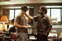 Good Will Hunting - Publicity still of Matt Damon & Robin Williams