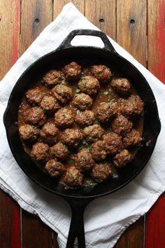 Albóndigas en Salsa de Chipotle/Meatballs in Chipotle Sauce