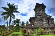 Indonesia - Java - Malang - Singosari - Candi Singosari~~ Singosari Temple