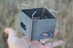Folding Firebox Nano | Finally a wood stove that will fit inside the Maxpedition 10x4!