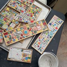 Make your own mosaic pieces with clay
