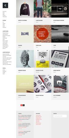 Crush - a WordPress portfolio theme