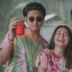 Can you kathryn's face? She really adorable. Natural kilig from dj ❤ Joshua Garcia, Bff Pictures, Bff Pics, Daniel Johns, Daniel Padilla, Kathryn Bernardo, Insta Photo Ideas, Cute Couples Goals, Best Couple