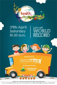 "#Lets_Set_WORLD_RECORD #Swasth_Bharat_Sashakt_Bharat 🇮🇳 ""Dance to express not to impress"" so let's express by Dancing together on 29th April 2017 at Capitol Complex Chandigarh!"