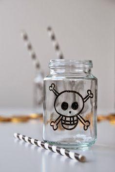 Hverdagsbloggen: Piratglass DIY