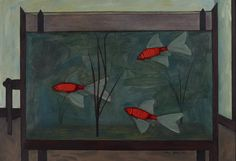 The Fish Tank, 1957, John Brack. Reproduced courtesy Kerry Stokes Collection.