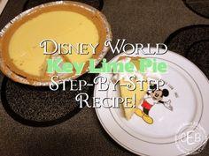 DIY #Disney Recipe: Key Lime Pie from Olivia's Café at Disney's Old Key West Resort #YUM