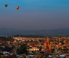Balloons over San Miguel Redux