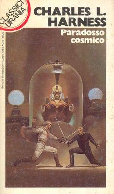 132  PARADOSSO COSMICO 3/1988  THE PARADOX MEN (1953)  Copertina di  Vicente Segrelles   CHARLES L. HARNESS