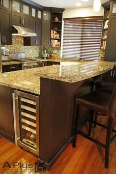 Wonderful Redo Kitchen Island Two Tier | 32   Irvine   Kitchen U0026 Fireplace Remodel