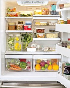 http://livesimplybyannie.wordpress.com/2012/03/27/organization-chilled-how-to-organize-the-fridge/  I need to get some clear, plastic containers, lol